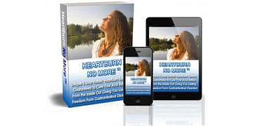Heartburn No More - Cure Your Acid Reflux and Heartburn by Jeff Martin