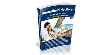 Hemorrhoid No More – Cure Hemorrhoids & Constipation Naturally by Jessica Wright
